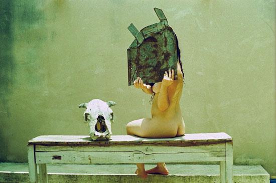 Conrado Sarid-Maletah -Una-mujer-que-habla-consigo-misma.jpg