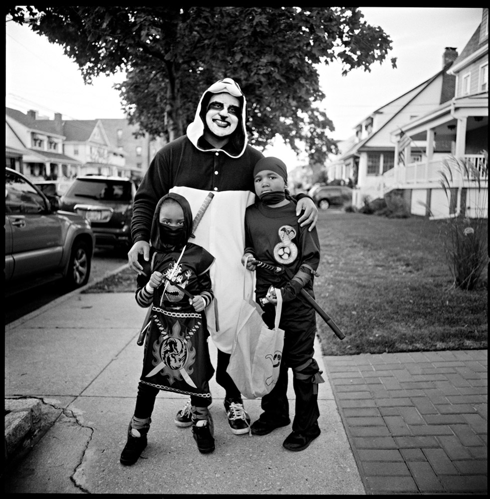 Larry Racioppo E-06-Ninjas-and-Clown,-Rockaway,-2016-.jpg