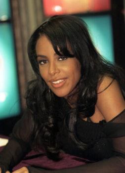 "Judy Schiller: Aaliyah,  2001. 11x14"", signed. @judyfotoqueen"