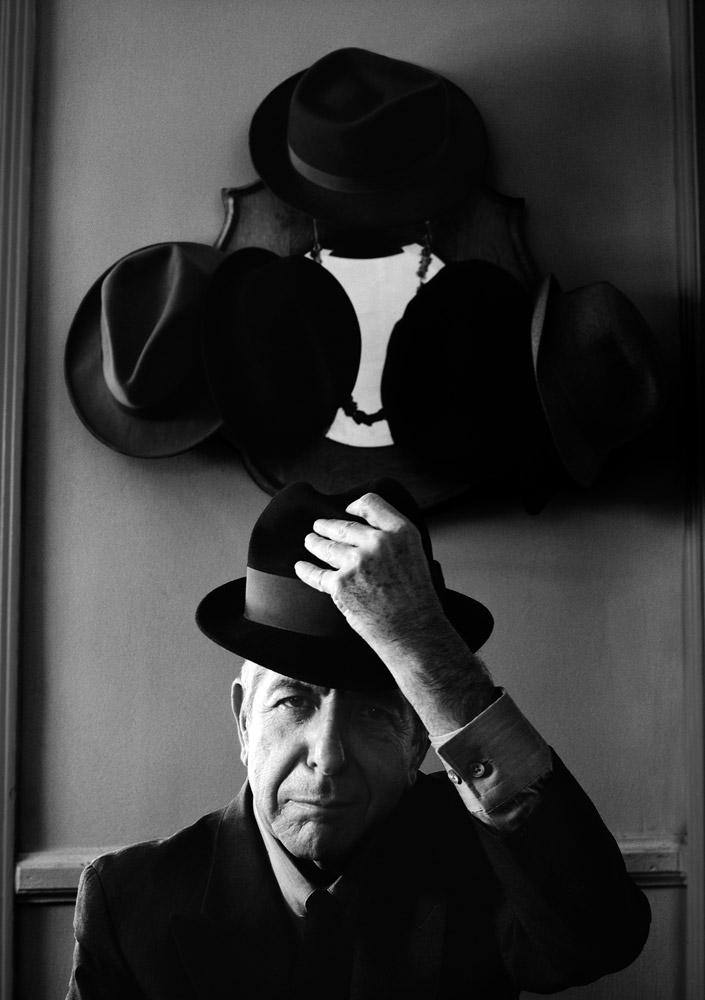 Leonard Cohen, LA, 2001 © Ethan Hill