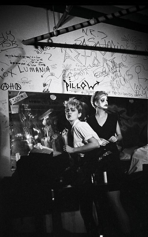 Madonna, NY, 1982 © Josh Cheuse