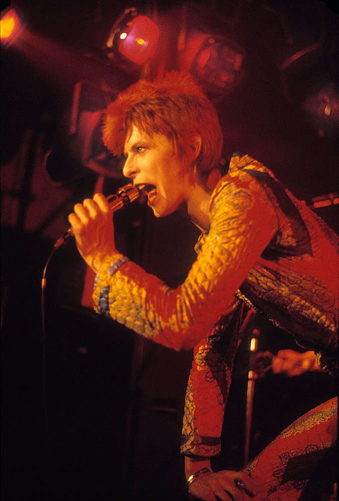 David Bowie, UK, 1972 © Mick Rock. SOLD OUT!