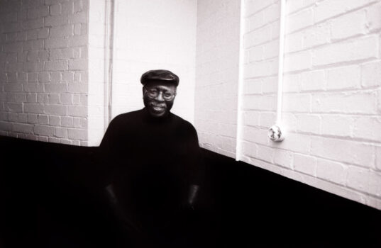 Curtis Mayfield, London, 1990 © Ray Burmiston. Click here to buy