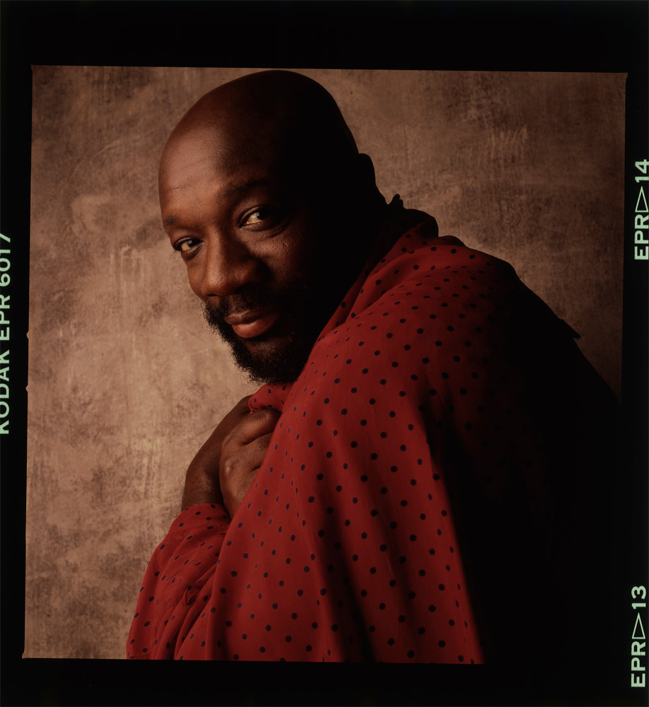Isaac Hayes, NY, 1988 © William Coupon. Click here to buy