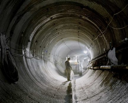 Work in north tunnel, 12 ft in diameter, 2006