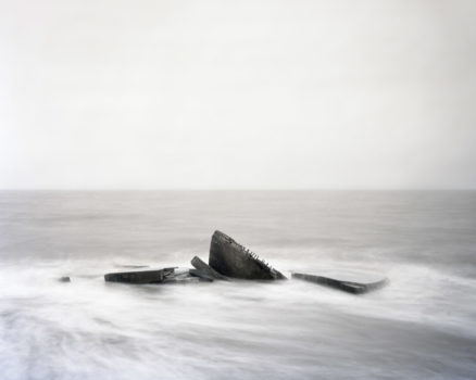 """Spurn Point, Yorkshire, England  """"These man-made objects and zones of defence now sit silently in the landscape, imbued with the history of our recent past. Some remain proud and strong, some are gently decaying."""""""