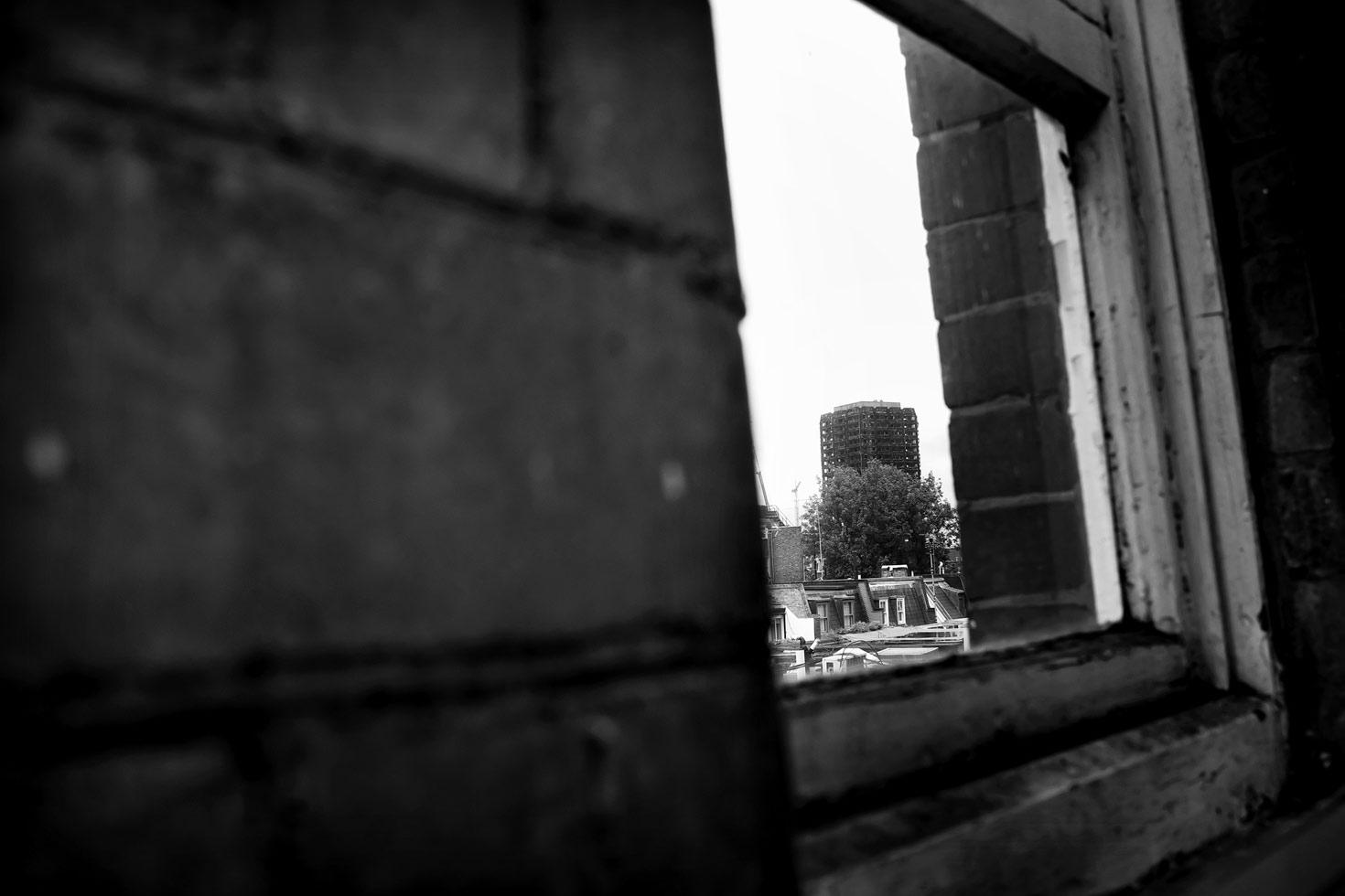 From a window in Ladbroke Grove.