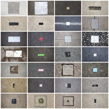 Twenty-Eight Squares and Rectangles Found on Streets and Sidewalks