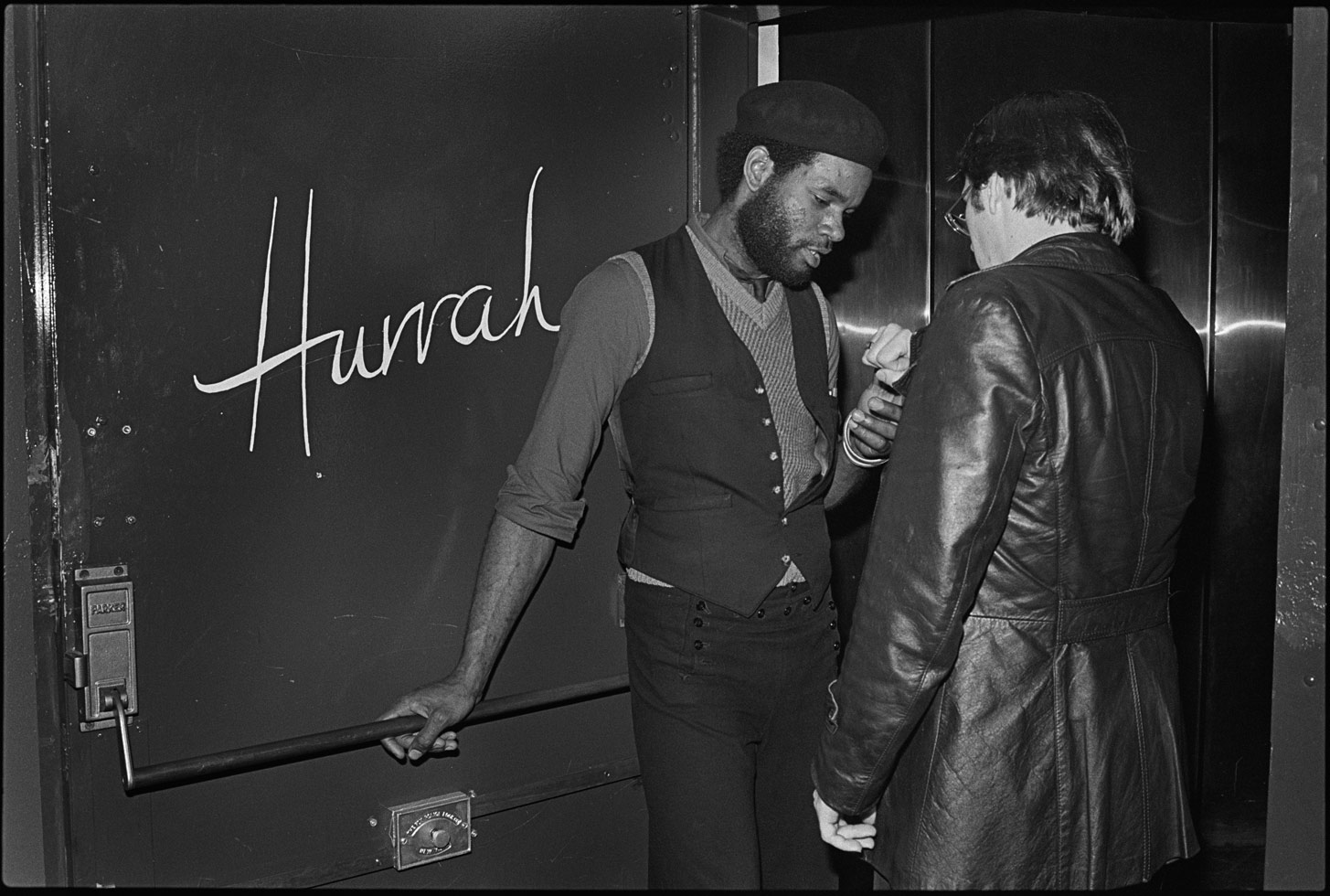 """""""Hurrah was at 36 West 62nd Street and ran from 1976-80. It was mostly a punk and new wave club."""""""