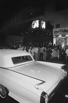 """Marc Benecke called the shots outside Studio 54, along with Steve Rubell. This was the scene most nights as people waited for hours to be chosen to enter the grand party. Sometimes pulling up in a Bentley or Cadillac helped, but not always. Nobody was interested in getting into Shufflebottoms, the club next door."""