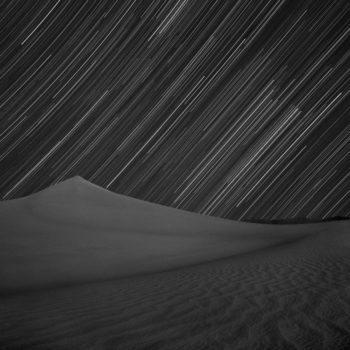 Orion Over Mesquite Dunes