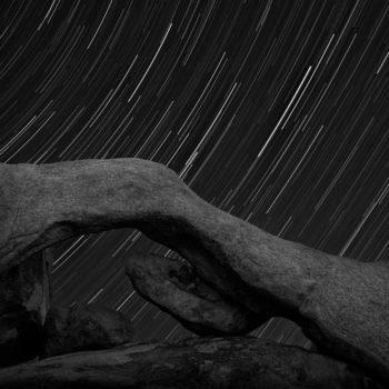 Stars Through Arch Rock