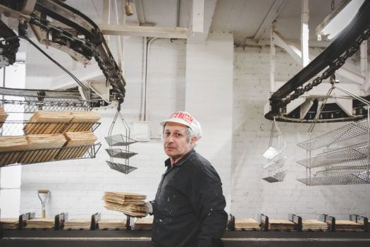 Erica Price gives us a last glimpse at the Streit matzo factory, which recently left Manhattan's Lower East Side for a new home in New Jersey.