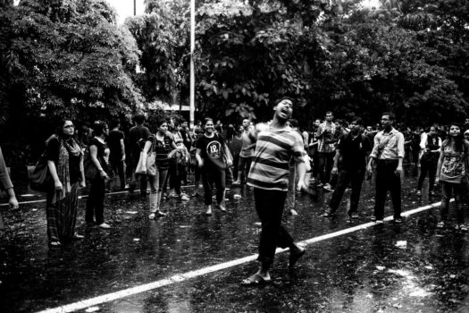 """""""The police thought that this was over. They forgot that students were like seeds. They cannot be suppressed by throwing them on the ground."""""""