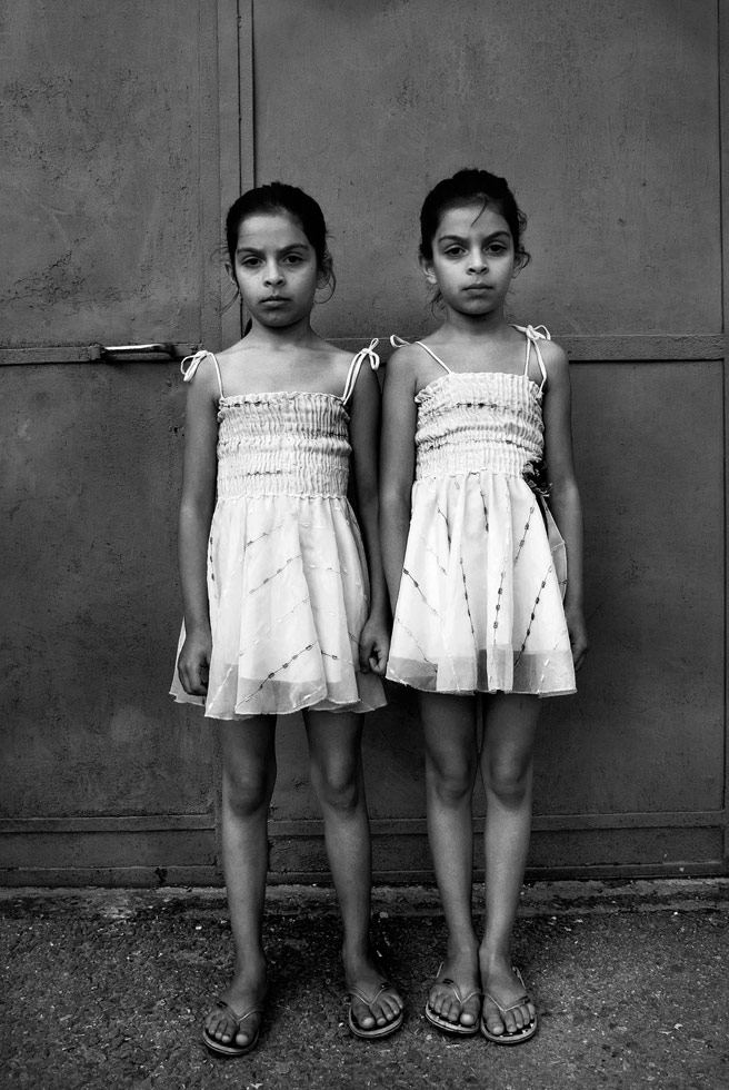 Twins.  Tirana, Albania, 2007