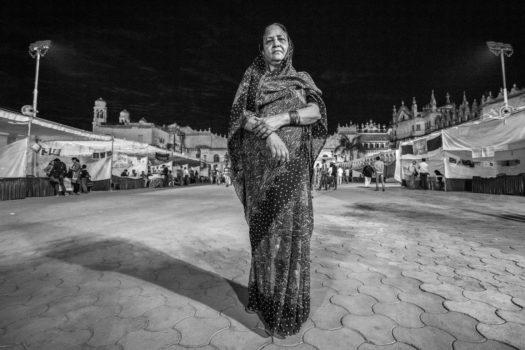 "Nobel Peace Prize ""1,000 Women"" nominee Rashida Bee, a Union Carbide gas disaster survivor/activist in Bhopal.  India."
