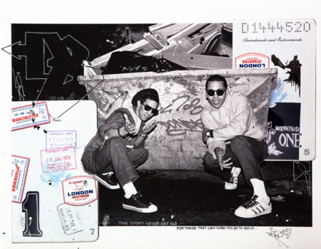 Futura and Dondi White, London, 1982