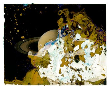 A Photograph of Saturn Eaten by Bacteria Found on an Adulterer's Engagement Ring