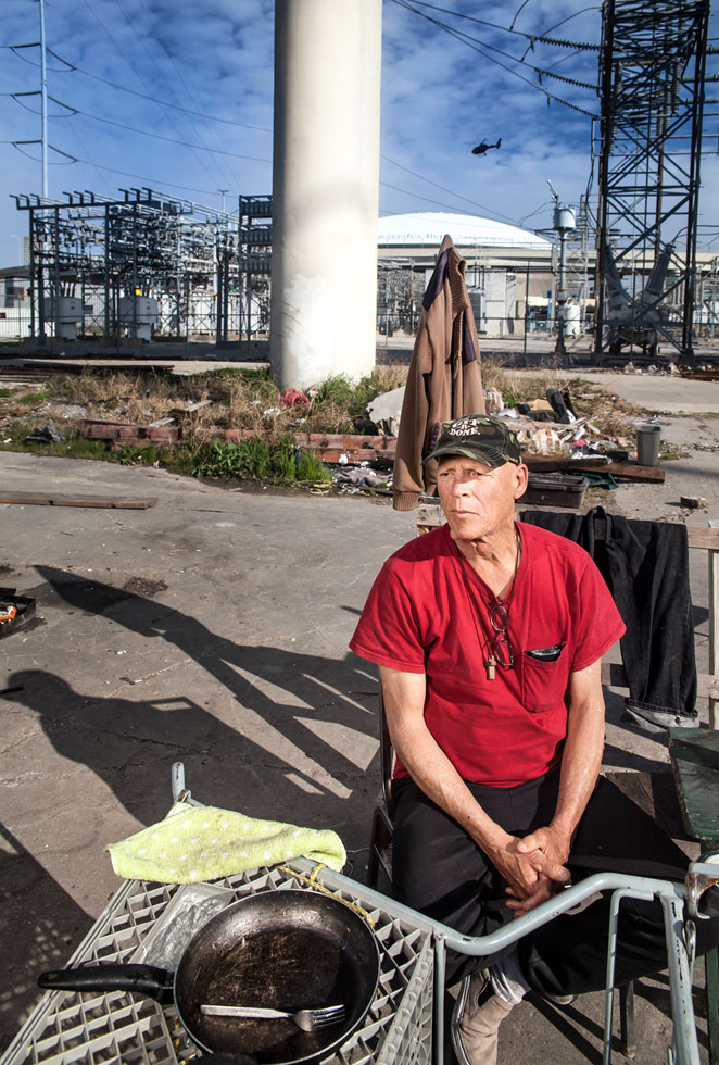 Blair lost his job and he is dying of liver disease. He went to a hospital for a medical emergency and they took ownership of his social security check to pay for services. The hospital allows him $18 a month from his social security check to live on. He lost his mom and siblings to suicide. He is divorced and his kids do not speak to him. He drinks beer as he continues to ruminate on his life and falls deeper into depression.