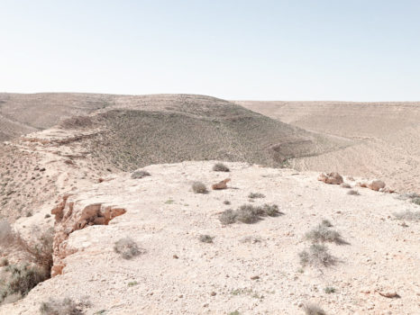 Artillery Placement, Bunker Z84. Wadi Zitoune Battlefield, Libya
