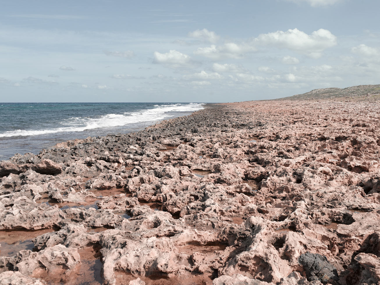 Keyes Beach used by British Commandos in the raid on Rommel's headquarters.  Near Al Bayda, Libya
