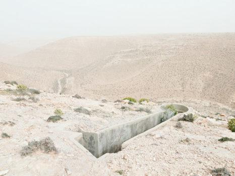 Bunker Z97 after a sandstorm. Wadi Zitoune, Libya