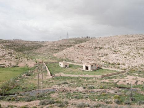 Wadi Auda water pumping station.  Fort Auda, Libya