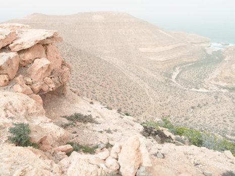 Pillbox Z97 after a sandstorm. Wadi Zitoune Battlefield, Tobruk perimeter, Libya