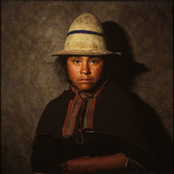 Aymara and Quechua Indians. Puno and Lake Taquile, Peru, and La Paz, Bolivia, 1984