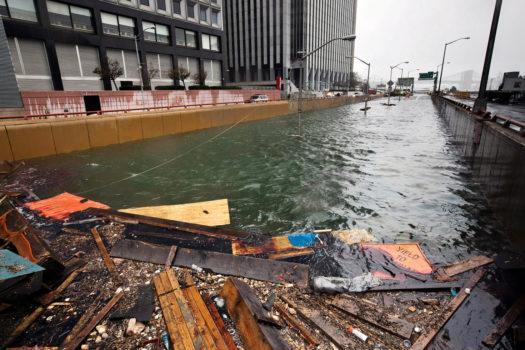 The Battery Park Underpass, Downtown Manhattan, October 30, 2012