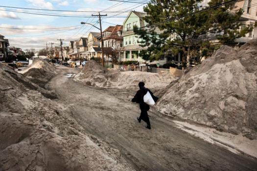 Beach 119th Street, Rockaway, Queens, November 4, 2012