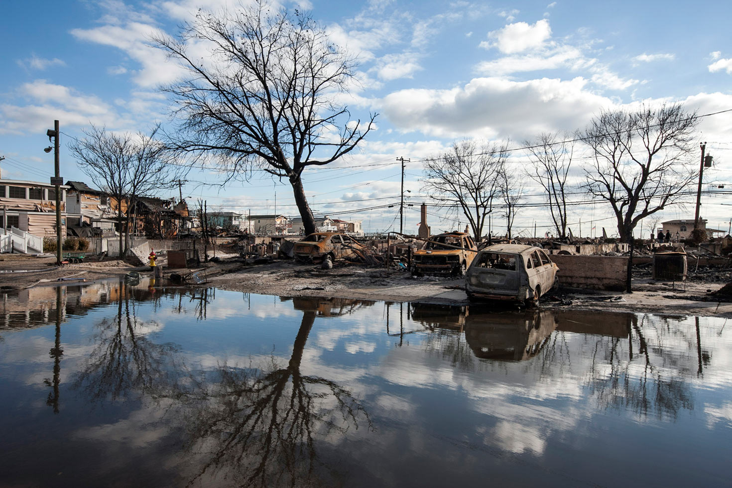 Breezy Point, Queens, November 4, 2012