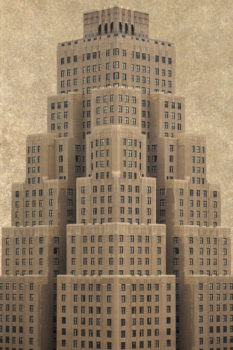 Real or imaginary? Marc Yankus' vision of New York.  Somewhere in the West Thirties