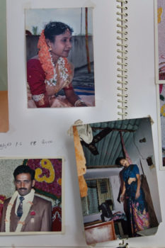 """Photos were taken from the case files of Donna Fernandes, a founding member of Vimochana, an organization that has fought violence against women in Bangalore for the past 35 years. Fernandes explains that """"with globalization and privatization, everything began to be seen through the prism of money and market. Marriage today has become a business transaction, a complete replacement of human values by market values."""""""