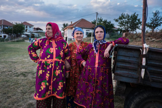 """The contradiction between the traditional and the contemporary way of life is reflected in the contrast between the male and female Yörük population - the women with their colorful and archaic traditional gowns... and the men who have adopted the contemporary way of behavior and dressing."""