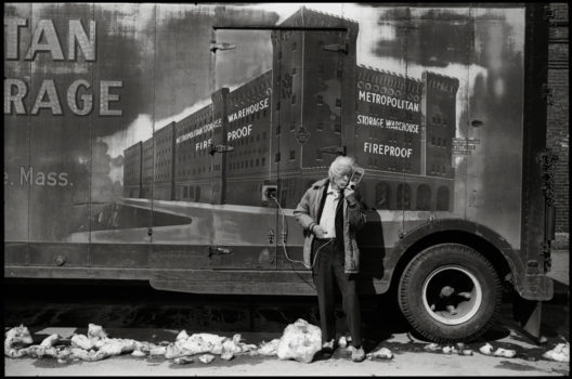 """Radio and Truck,"" Cambridge, Massachusetts, March 20, 1976"