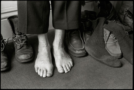 """Feet, Shoes and Socks,"" 203 Park Ave., March, 1976"