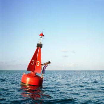 The Channel Marker, Self Portrait Eastern Shipping Lanes, Bermuda, 2004