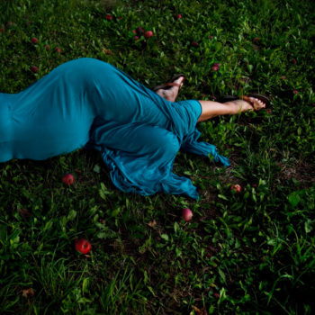 Fallen Apples, Elizabeth Rockport, Maine, 2011