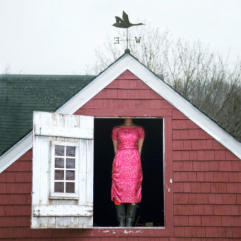 The Weathervane, Self Portrait Rockport, Maine, 2010