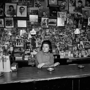 """Wanda Behind the Bar,"" Tootsie's Orchid Lounge, Nashville, Tennessee, 1974"