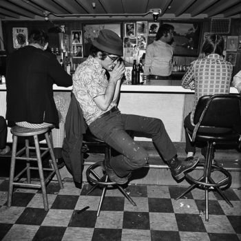 """Harmonica Player,"" Merchant's Cafe, Nashville, Tennessee, 1974"
