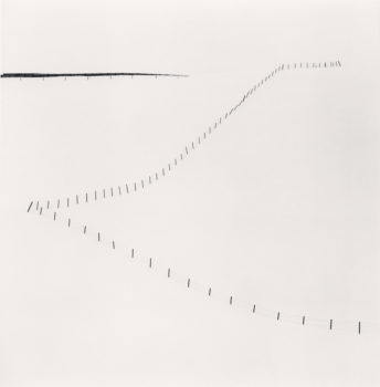 Michael Kenna: Serene  Hillside Fence, Study 6  Teshikaga, Hokkaido, Japan, 2007