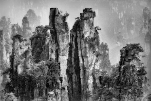 Karst Formations, Hunan, China, by Louis Montrose