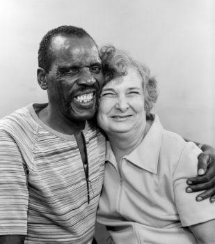Turlock, Stanislaus County Fair, 1977  Happily married.