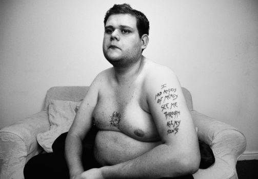 """Portraits from J A Mortram's ongoing series """"Small Town Inertia"""""""