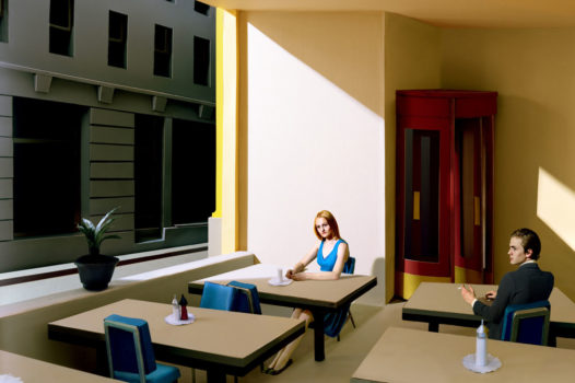 Sunlight in the Cafeteria, by Laetitia Molenaar (The Netherlands)