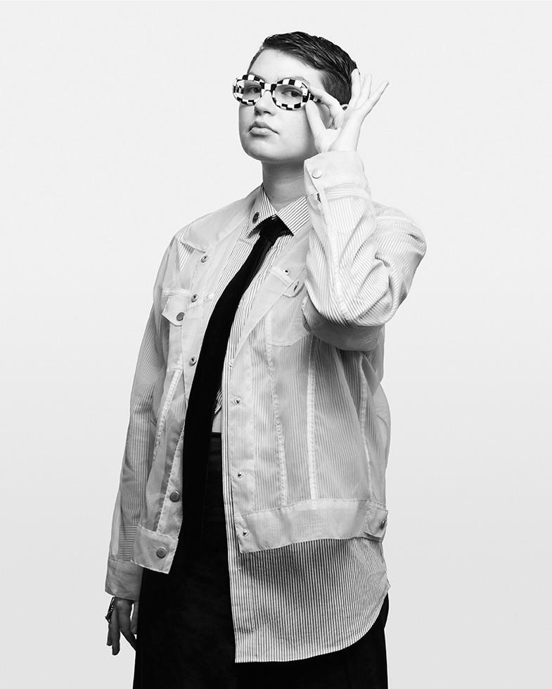 Zoe Schlacter, interdisciplinary artist and designer, Queer Art Mentorship fellow