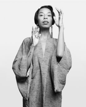 "Kia LaBeija, multidisciplinary artist, 2017 Queer|Art|Prize Finalist, current ""mother"" of the House of LaBeija"