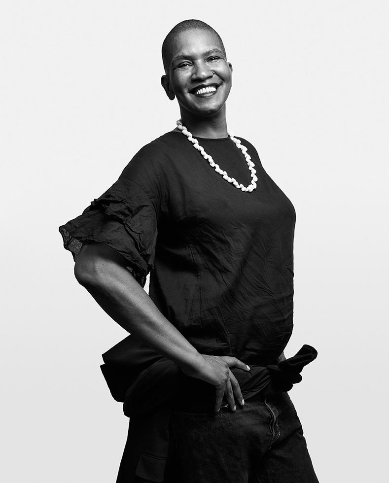 Pamela Sneed, poet, performance artist, actress, activist, mentor
